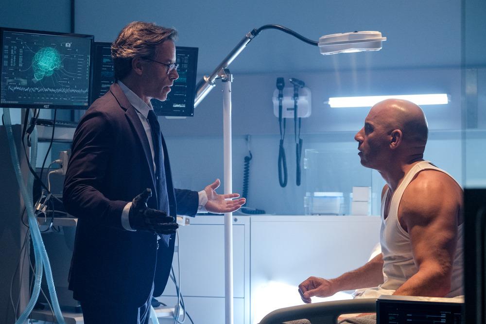 Vin Diesel and Guy Pearce