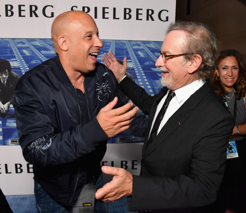 Vin Diesel and Steven Spielberg