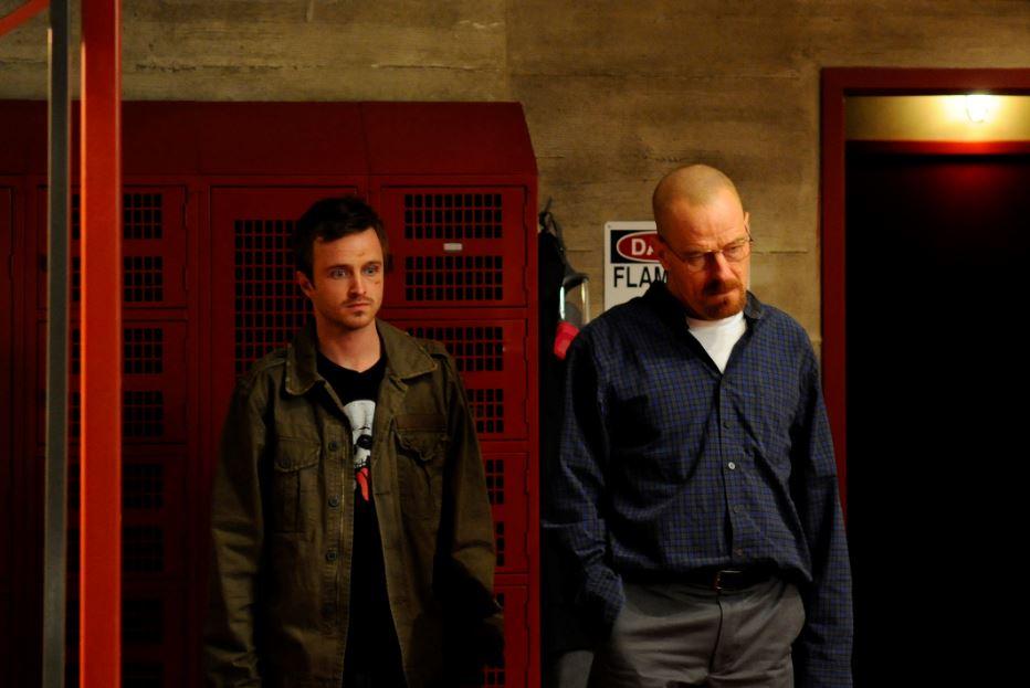Walt and Jesse on Breaking Bad