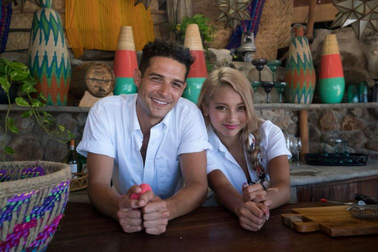Wells and Yuki, bartenders on 'Bachelor in Paradise'