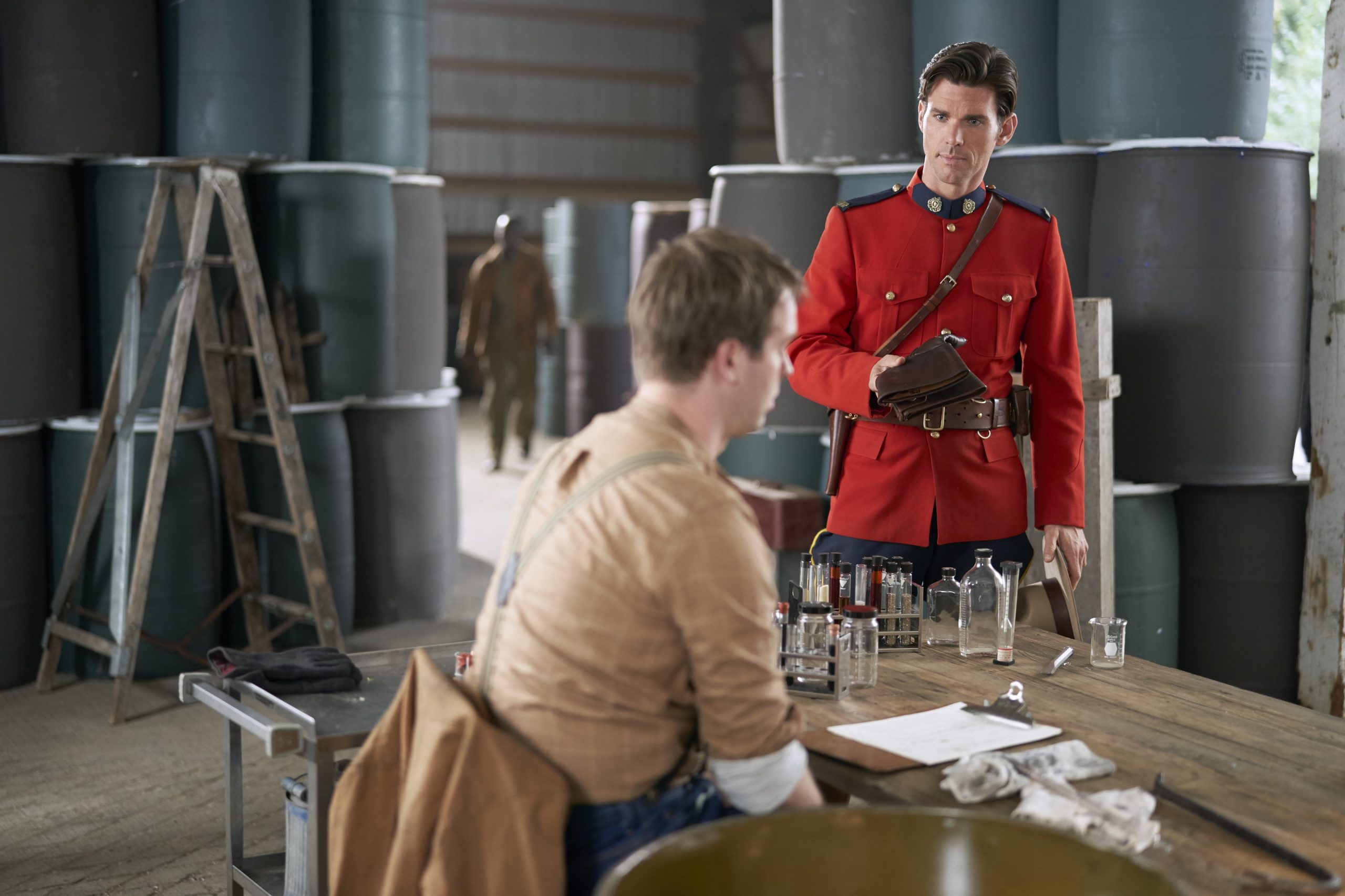 Kevin McGarry in When Calls the Heart
