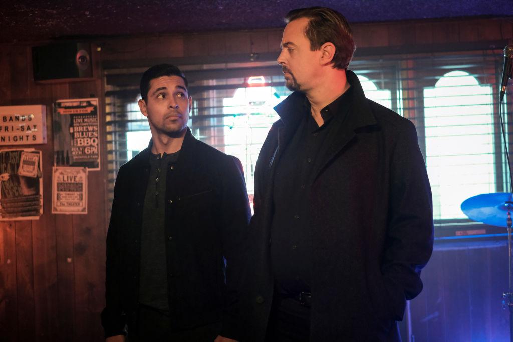 Wilmer Valderrama and Sean Murray on NCIS | Eddy Chen/CBS via Getty Images