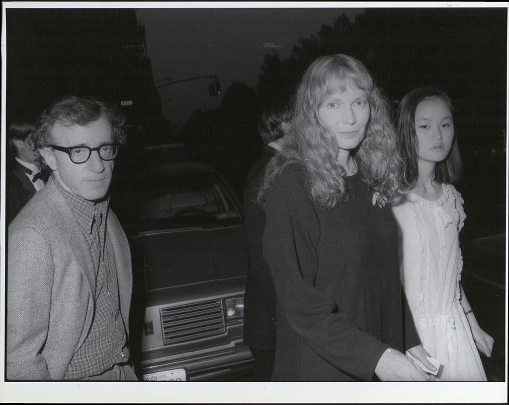 Woody Allen, Mia Farrow, and Soon Yi Previn