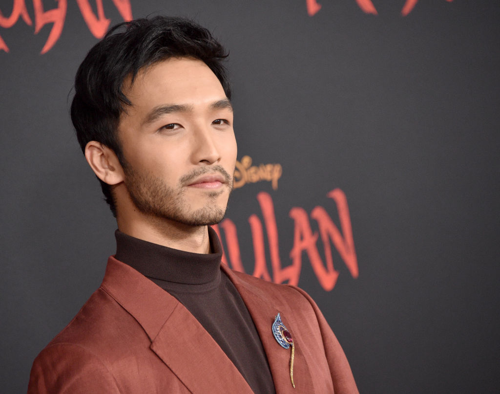 "Yoson An attends the Premiere Of Disney's ""Mulan"""