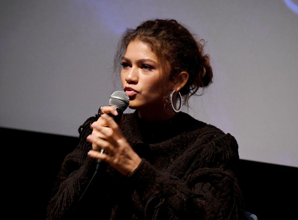 "Zendaya attends the HBO ""Euphoria"" FYC at the Landmark Theaters"