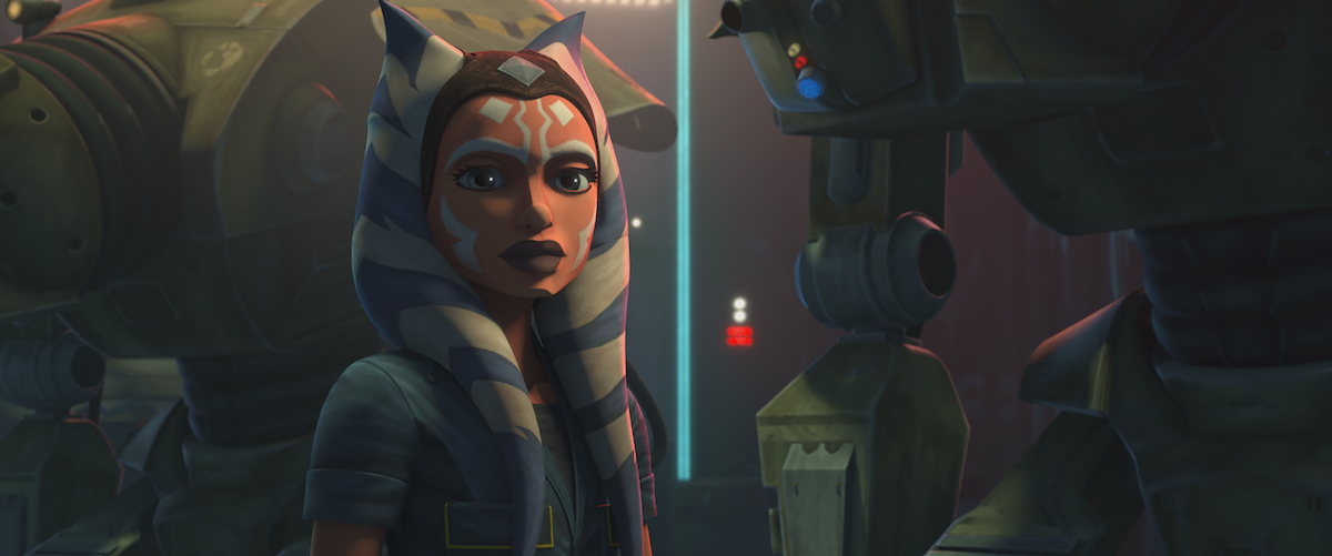 """Ahsoka Tano in Episode 5, """"Gone With a Trace,"""" 'The Clone Wars' Season 7."""
