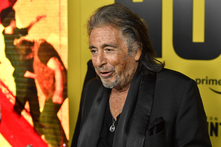 Al Pacino on the red carpet