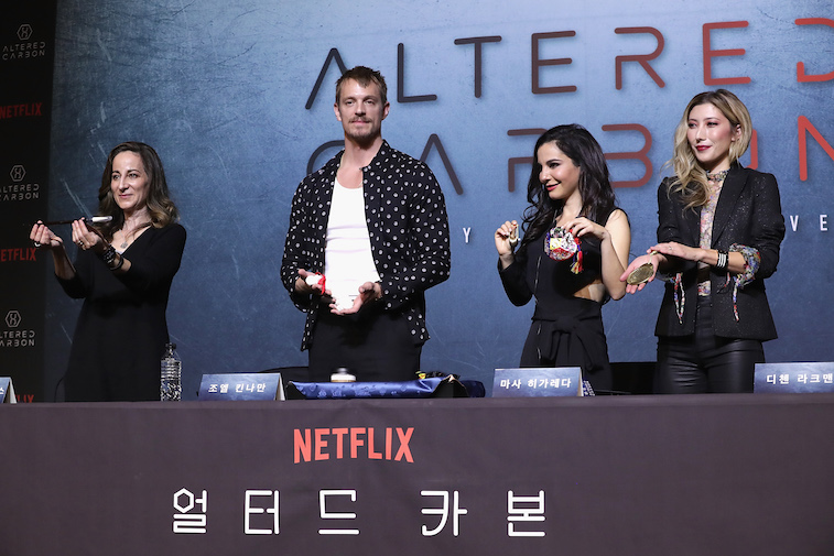 The cast of 'Altered Carbon'
