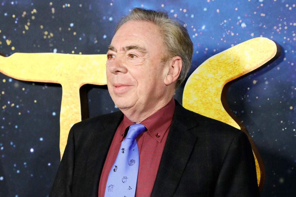 Andrew Lloyd Webber on the red carpet for the world premiere of 'Cats' at Alice Tully Hall, Lincoln Center on December 16, 2019.