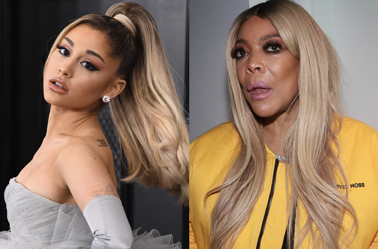 Ariana Grande and Wendy Williams