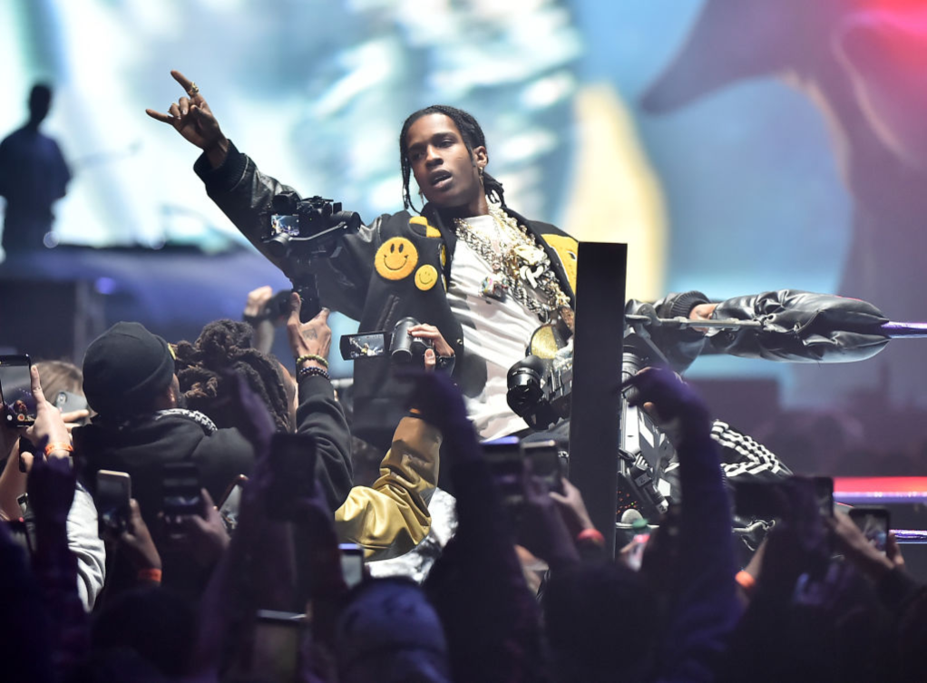 A$AP Rocky at Yams Day