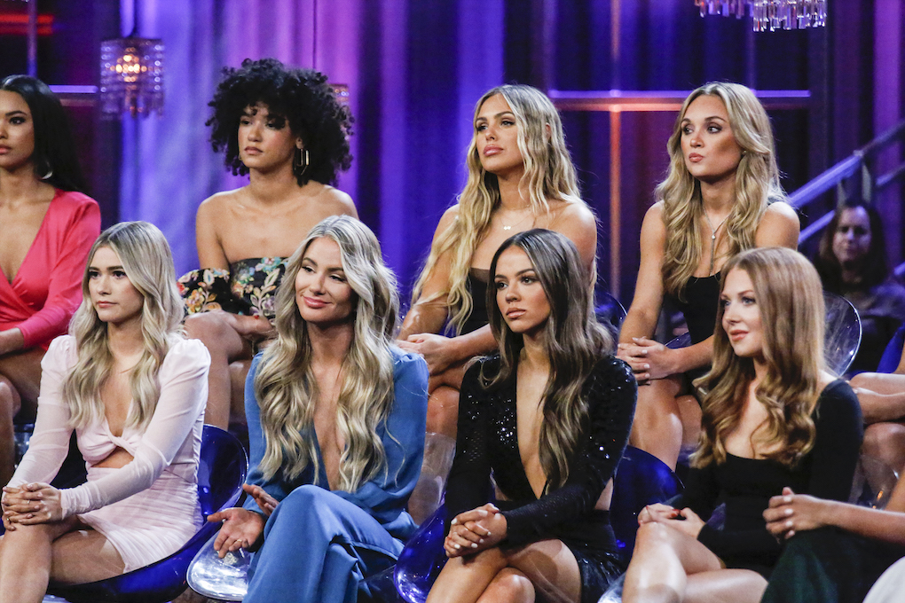 """Women from Peter Weber's season of 'The Bachelor' came together for the """"Women Tell All"""" episode on March 2."""