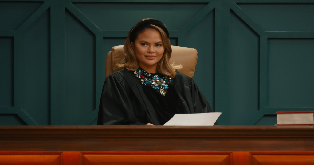 Chrissy Teigen in 'Chrissy's Court'