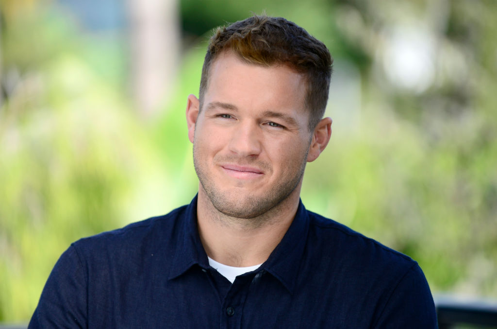 """Colton Underwood in a new ad campaign for Tubi, the """"world's largest free movie and TV streaming service,"""" on October 08, 2019."""