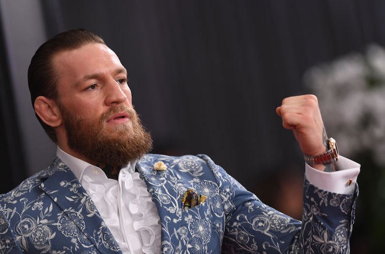 Conor McGregor on the red carpet
