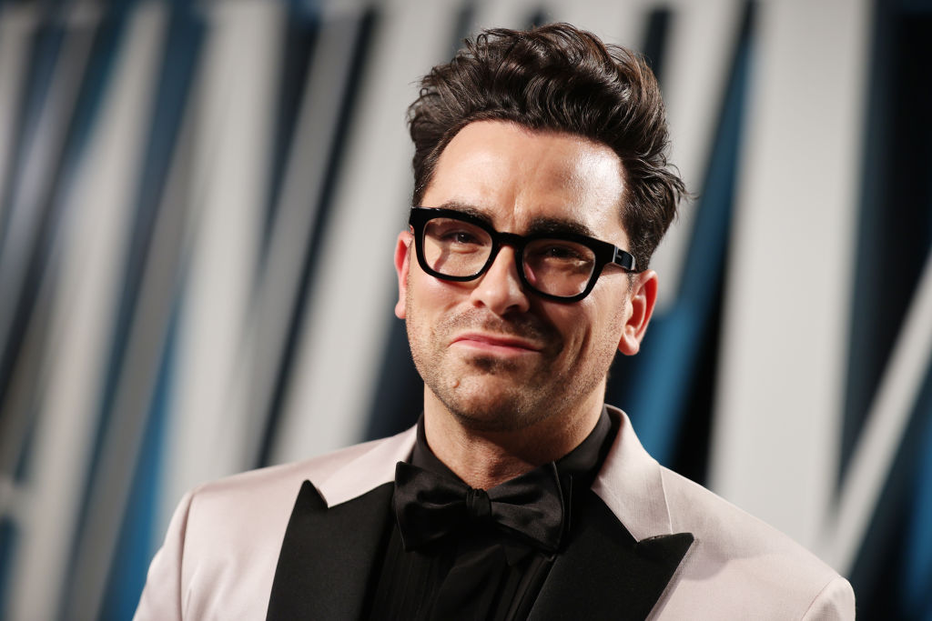 Daniel Levy attends the 2020 Vanity Fair Oscar Party on February 09, 2020