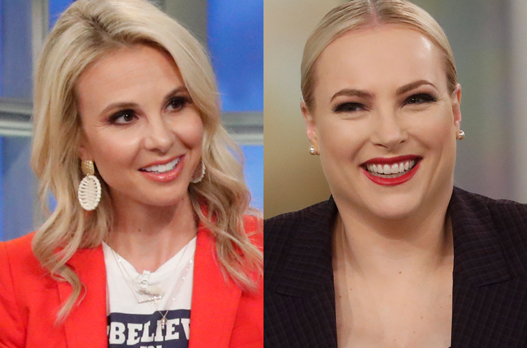 Elisabeth Hasselbeck and Meghan McCain