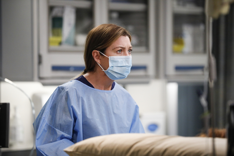 Ellen Pompeo in 'Grey's Anatomy'