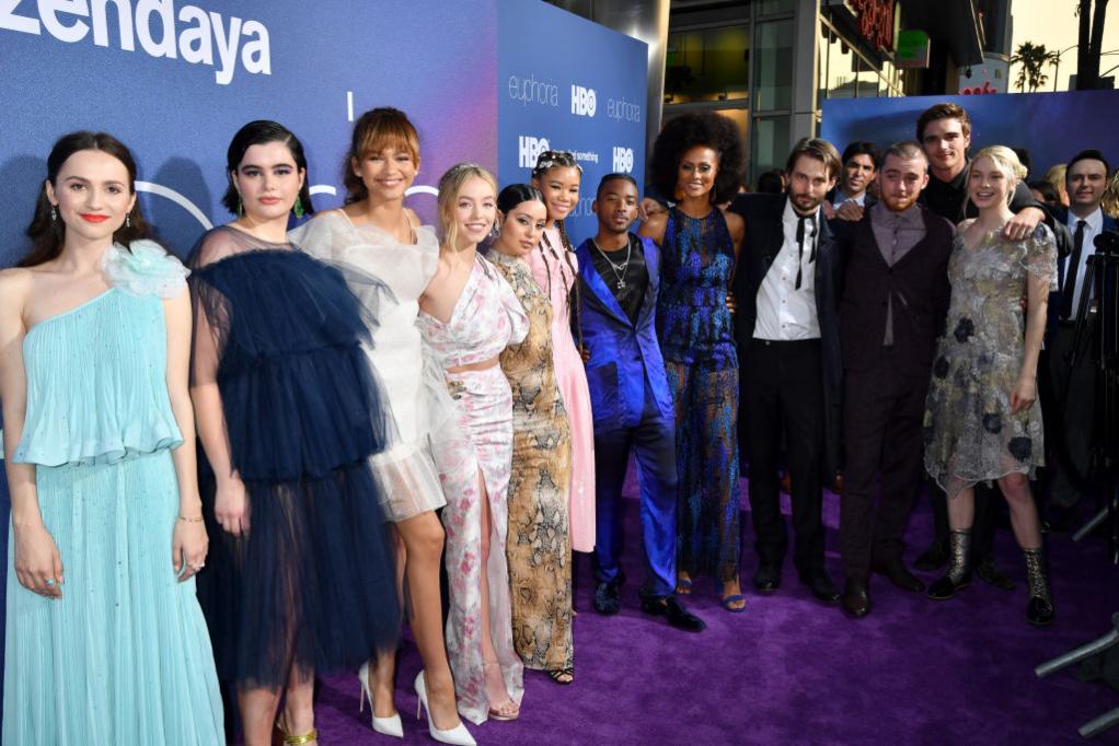 Cast of 'Euphoria'