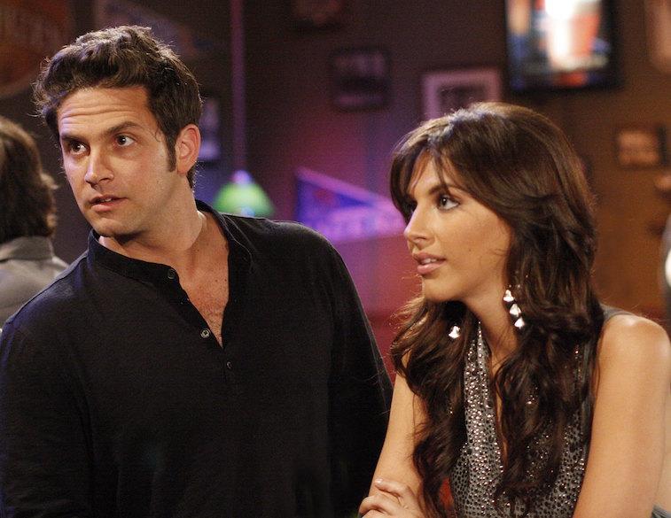 Brandon Barash (Johnny) and Adrianne Leon (Brook Lynn)