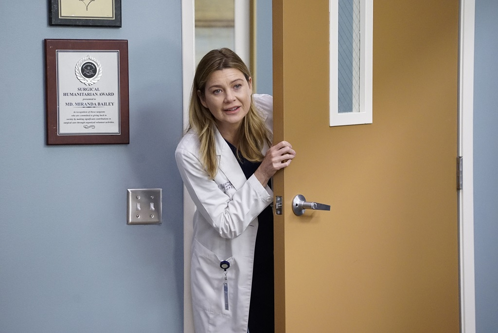 Ellen Pompeo as Meredith Grey in 'Grey's Anatomy' Season 16