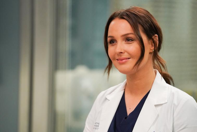 CAMILLA LUDDINGTON on Grey's Anatomy