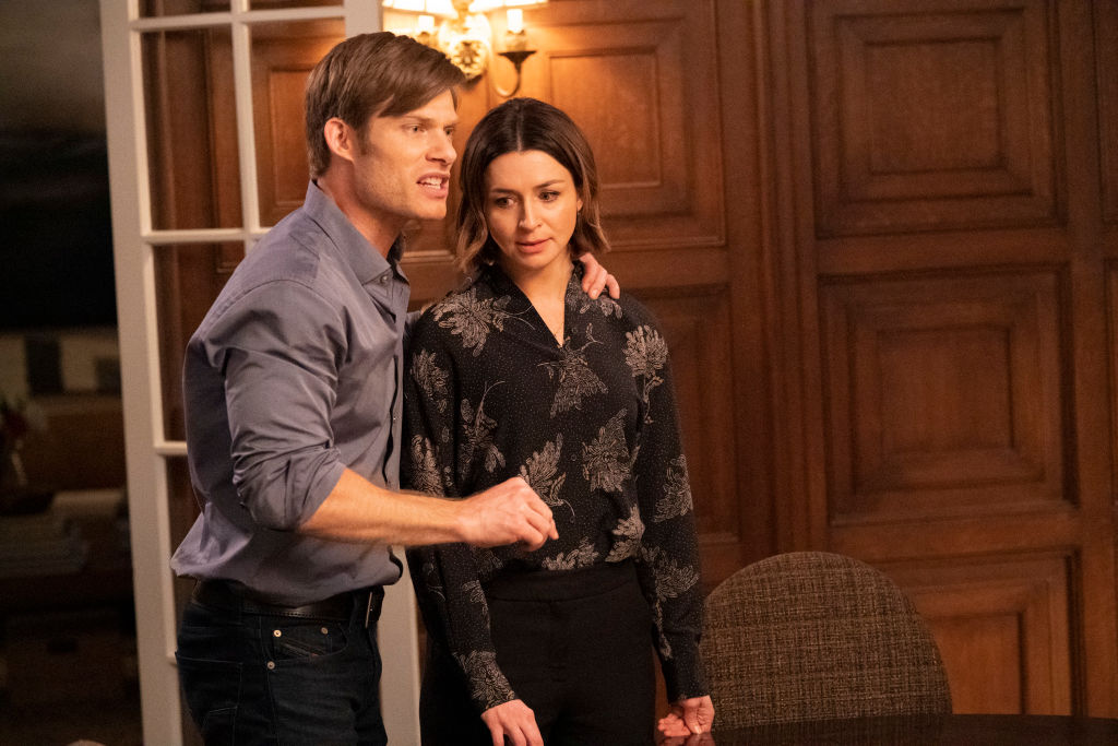 Chris Carmack and Caterina Scorsone in 'Grey's Anatomy'