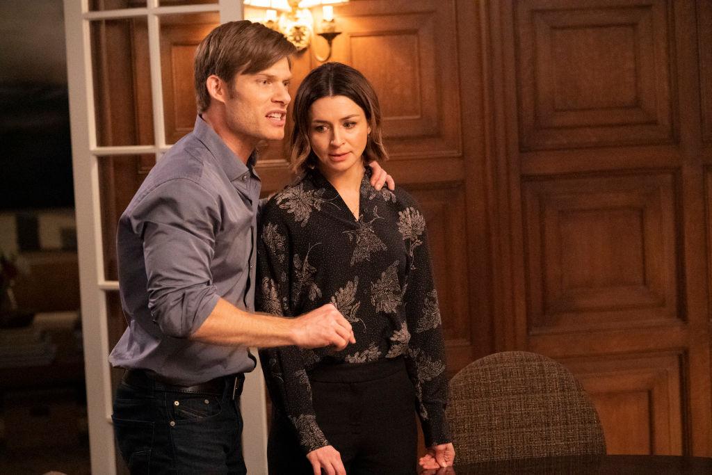 Chris Carmack and Caterina Scorsone in 'Grey's Anatomy'
