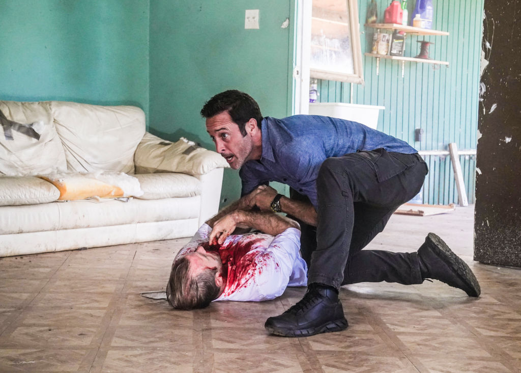 Danny and Steve in Hawaii Five-0