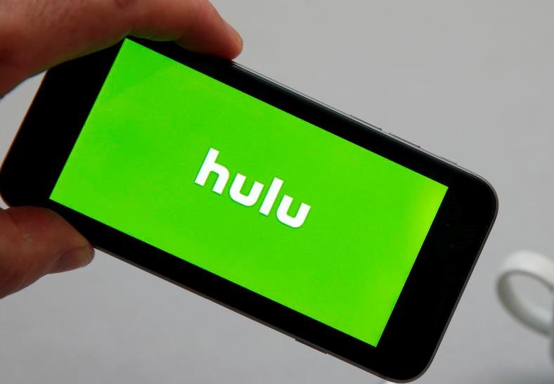Hulu logo on smartphone