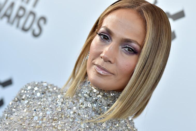 Jennifer Lopez on the red carpet