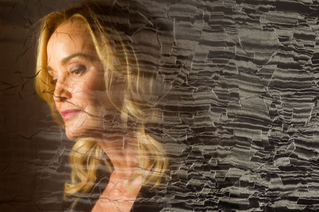 Jessica Lange in a portrait at the Four Season Hotel on October 5 2013.