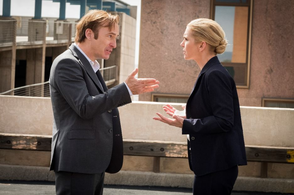 Kim and Jimmy on Better Call Saul