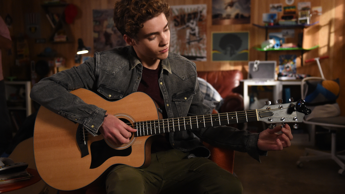 Ricky (played by Joshua Bassett) in Episode 9, of 'High School Musical: The Musical: The Series.'
