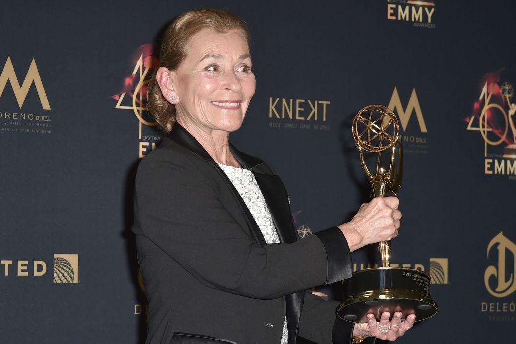 Judge Judy with Emmy