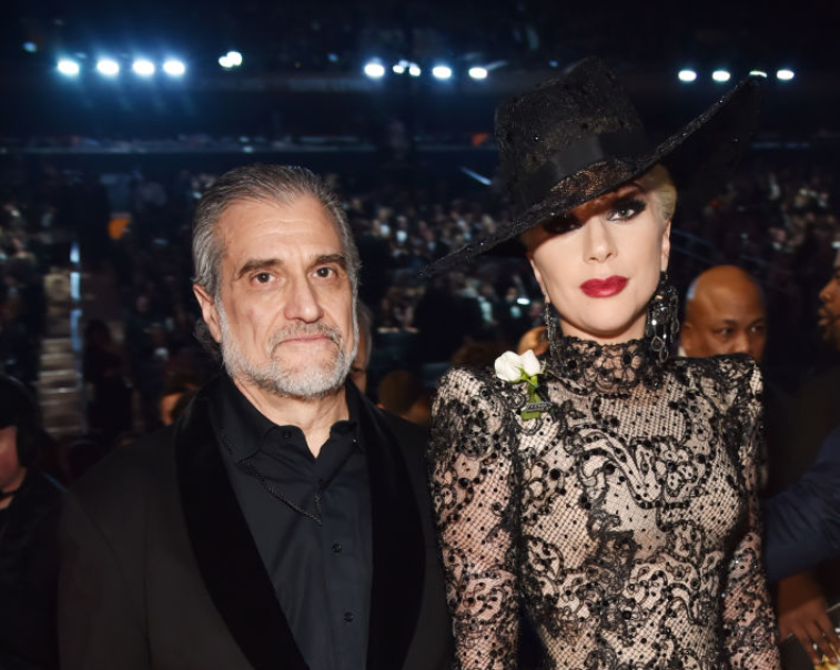 Lady Gaga and her father, Joe Germanotta