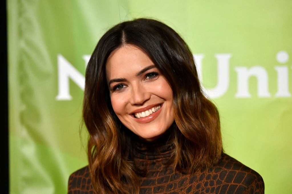 Mandy Moore attends the 2020 NBCUniversal Winter Press Tour 45