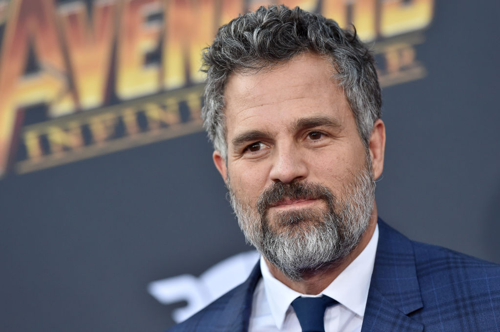 Mark Ruffalo attends the premiere of 'Avengers: Infinity War' on April 23, 2018