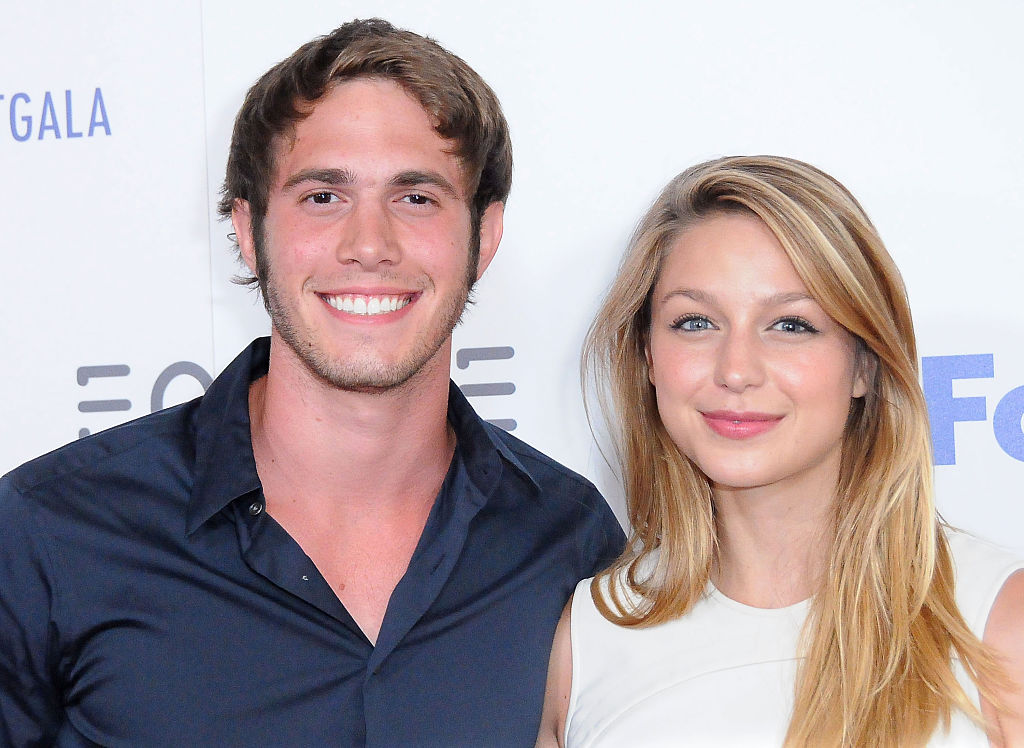 Blake Jenner and Melissa Benoist on June 30, 2015