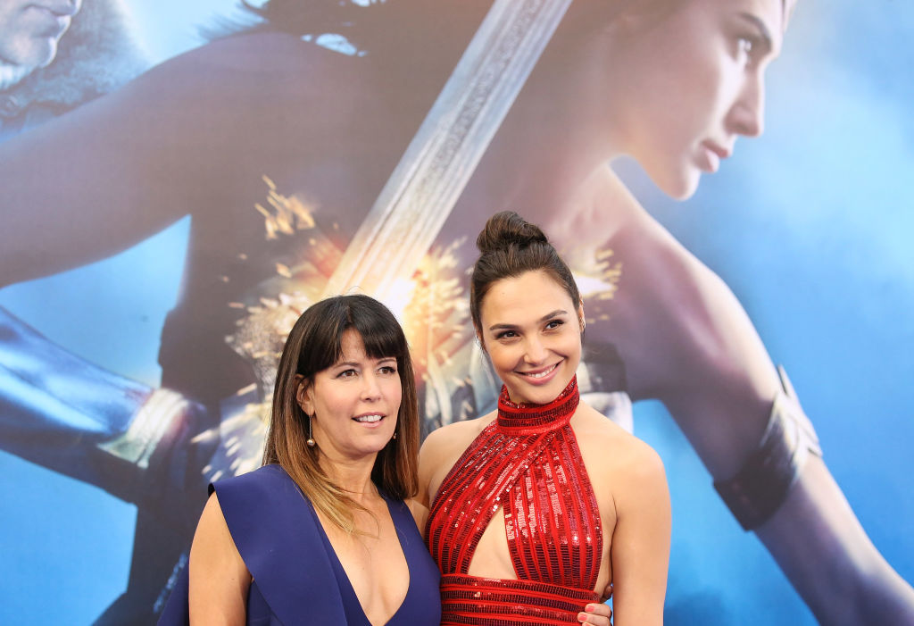 Patty Jenkins (L) and Gal Gadot arrive at the Los Angeles premiere of Warner Bros. Pictures' 'Wonder Woman' on May 25, 2017