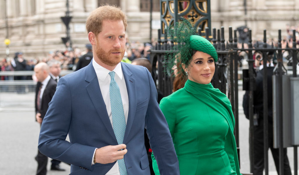 Prince Harry and Meghan, Duchess of Sussex attend the Commonwealth Day Service 2020