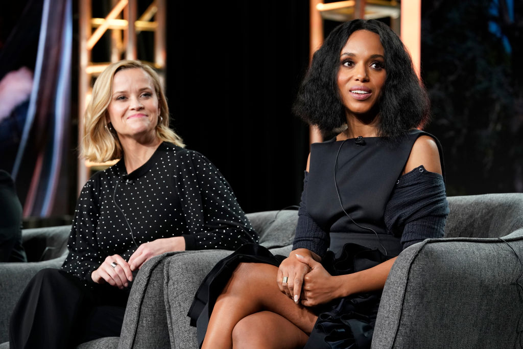 (L-R) Reese Witherspoon and Kerry Washington