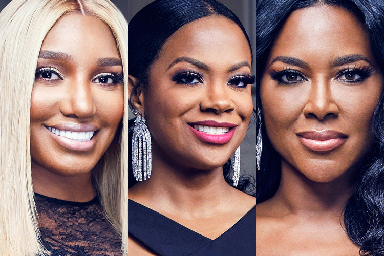 Nene Leakes, Kandi Burruss, and Kenya Moore
