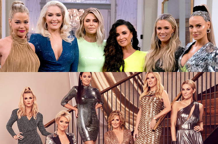 The cast of 'RHOBH' and 'RHONY'