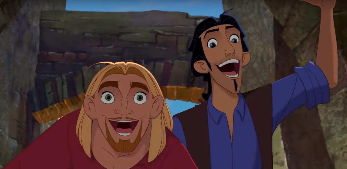 Miguel and Tulio in 'The Road to El Dorado.'