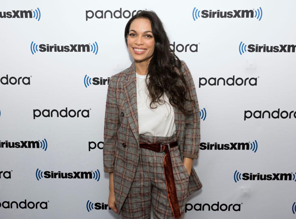 Rosario Dawson visits SiriusXM Studios on February 07, 2020.
