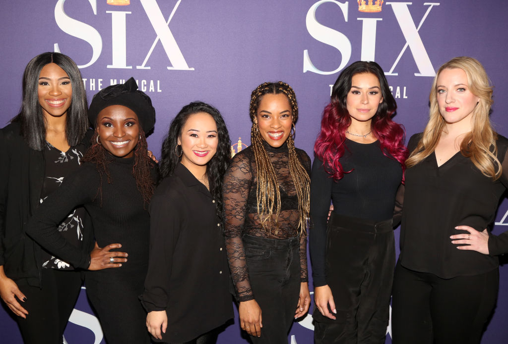 The cast of Six the Musical