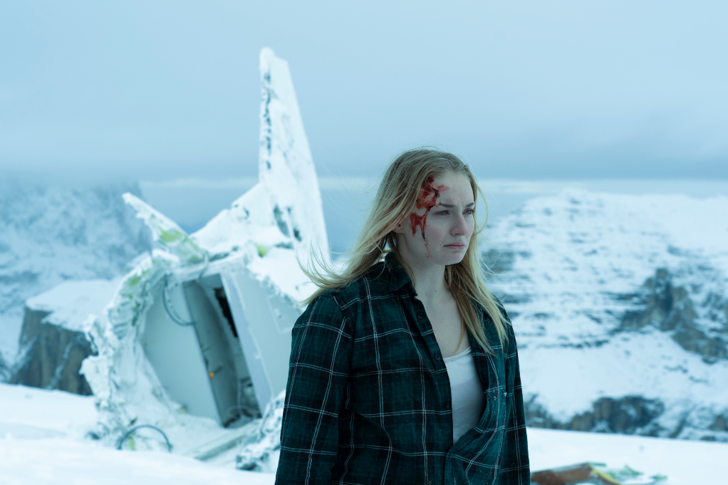 Sophie Turner in 'Survive' on Quibi