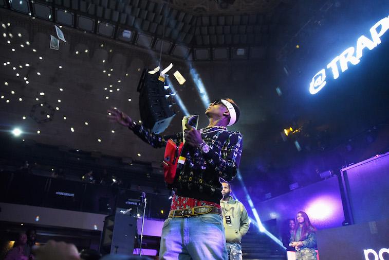 Soulja Boy performs onstage