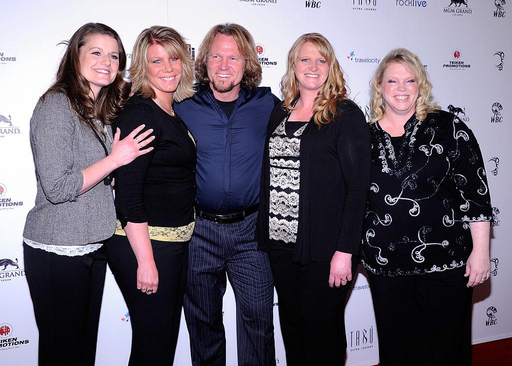 Robyn Brown, Meri Brown, Kody Brown, Christine Brown, and Janelle Brown from Sister Wives